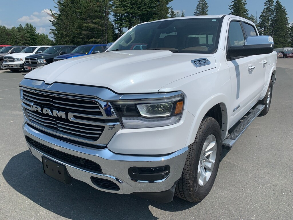 2019 Ram 1500 Laramie - Nav - Htd/Vtd Leather - Remote Start Crew Cab