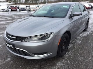 2016 Chrysler 200 Limited - Heated Seats - Nav - Bkup Cam Sedan
