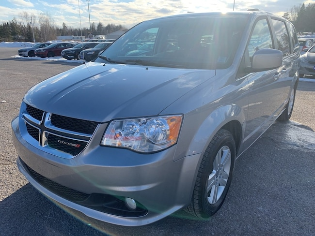 2018 Dodge Grand Caravan Crew - Nav - Heated Leather & Wheel Minivan