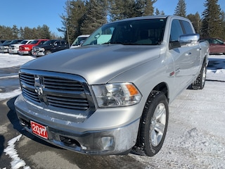 2017 Ram 1500 Big Horn - Heated Seats/Wheel - Nav - Backup Cam Crew Cab