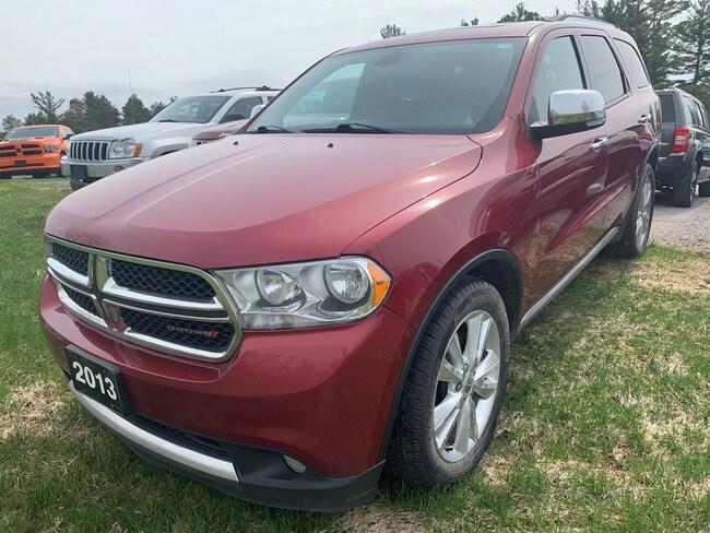 2013 Dodge Durango Crew Plus - DVD - 7 Pass - Nav - Htd Lthr SUV