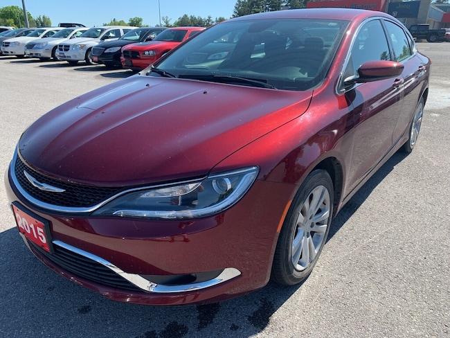 2015 Chrysler 200 Limited - V6 - Heated Seats/Wheel - Remote Start Sedan