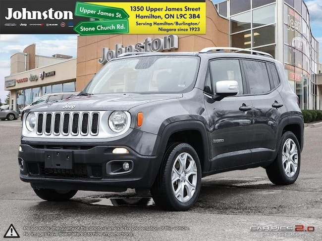 2018 Jeep Renegade Limited - Leather Seats -  Heated Seats - $119.97 SUV