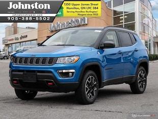2019 Jeep Compass Trailhawk - Navigation -  Uconnect SUV