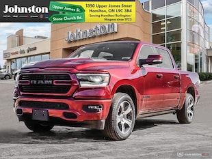 2019 Ram All-New 1500 Sport - Leather Seats -  Cooled Seats Crew Cab