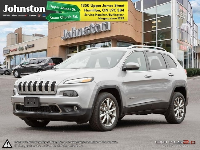 2018 Jeep Cherokee Limited - Leather Seats -  Bluetooth - $116.05 /Wk SUV