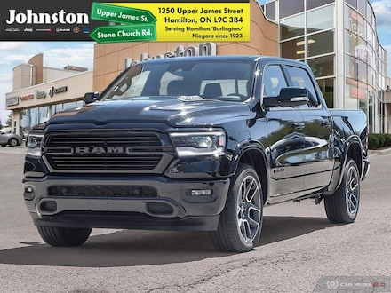 2019 Ram 1500 Black Edition   12 Inch Touch Screen   Safety Te Crew Cab