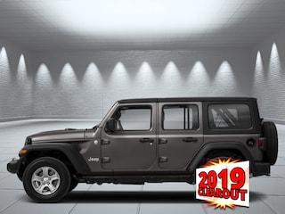 2019 Jeep Wrangler Unlimited Sahara - Navigation SUV