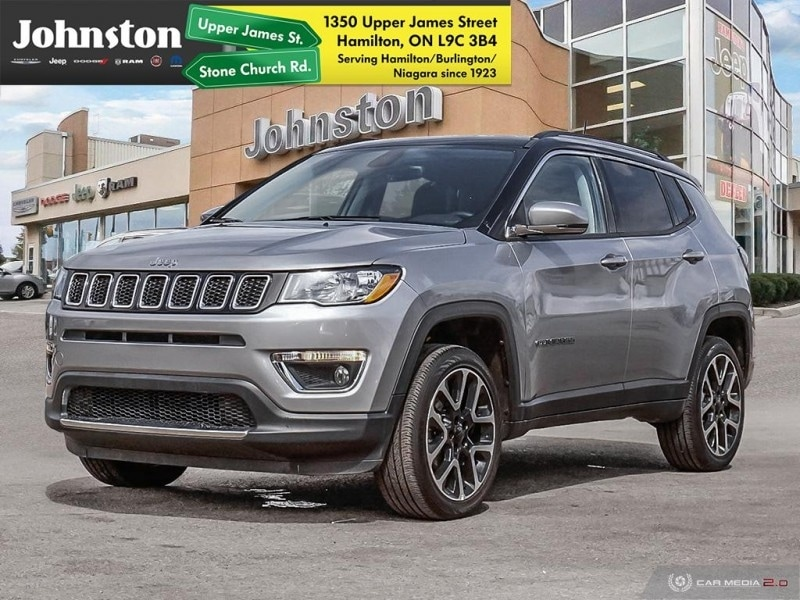 2018 Jeep Compass Limited - Leather Seats -  Bluetooth SUV