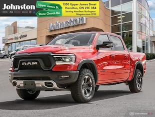 2020 Ram All-New 1500 Rebel - Leather Seats Crew Cab
