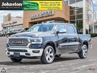 2019 Ram All-New 1500 Laramie - Navigation -  Uconnect Crew Cab