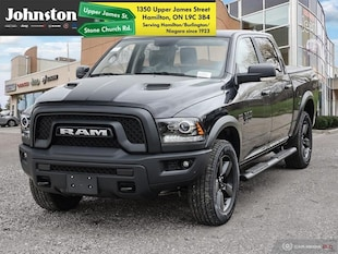 2019 Ram 1500 Classic Warlock - Navigation -  Uconnect Crew Cab