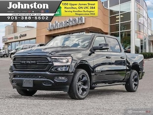 2019 Ram All-New 1500 Sport - Navigation -  Uconnect Crew Cab