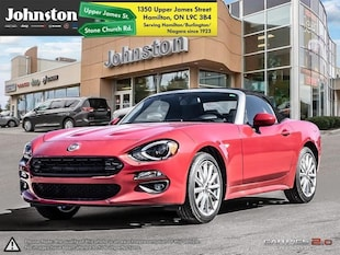 2019 FIAT 124 Spider Lusso Convertible - Leather Seats Convertible