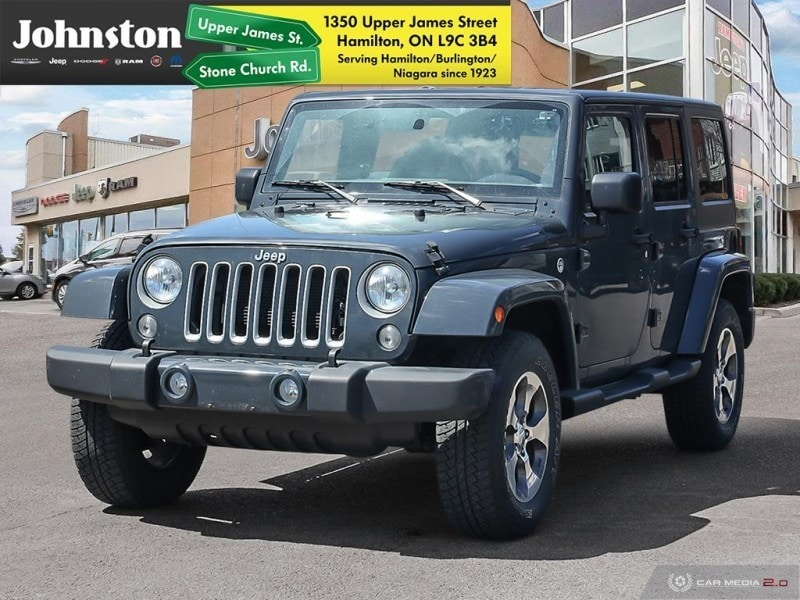 2016 Jeep Wrangler Unlimited Sahara -  A/C SUV