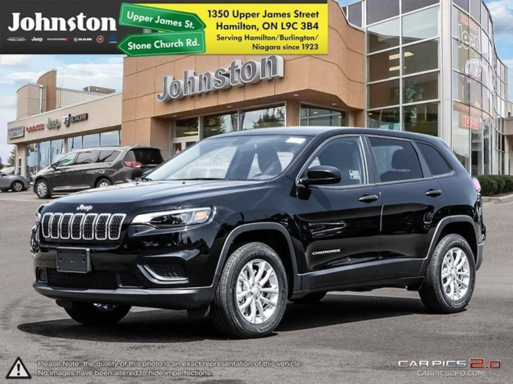 New 2019 Jeep New Cherokee Sport For Sale Hamilton On