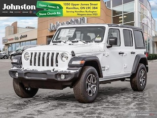 2019 Jeep Wrangler Unlimited Sport - Uconnect SUV