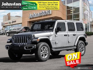2020 Jeep Wrangler Unlimited Sahara - Leather Seats SUV