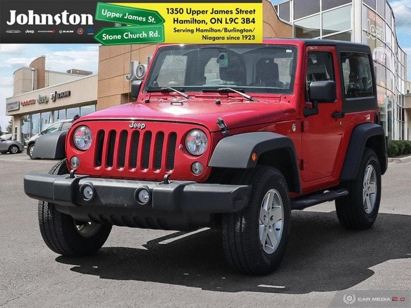2014 Jeep Wrangler Sport - Cruise Control -  Removable Top SUV