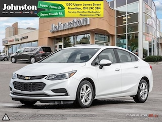 2018 Chevrolet Cruze LT - Bluetooth -  Heated Seats Sedan