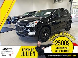 2017 Chevrolet Equinox LT w/1LT, AWD, BLUETOOTH, SIÈGES CHAUFFANT! VUS