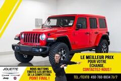 2021 Jeep Wrangler UNLIMITED RUBICON TOIT ÉLECTRIQUE MANUEL V6 !! VUS