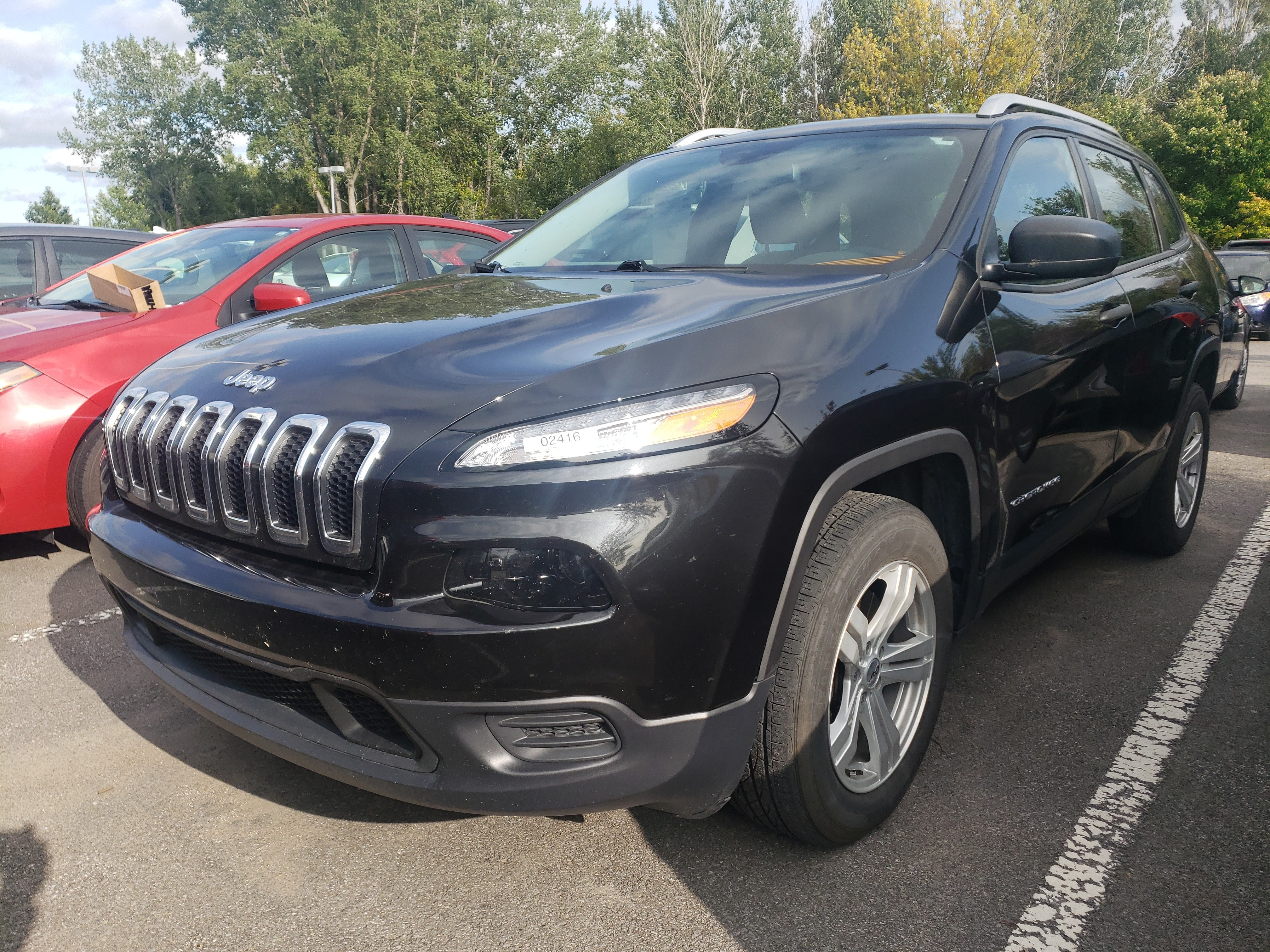 2015 Jeep  Cherokee Sport, 4X4, BLUETOOTH, DEMARREUR, CAMERA!!