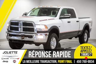 2012 Ram 2500 Power Wagon, 4X4, BLUETOOTH, SIEGE 40/20/40!! Camion cabine Crew