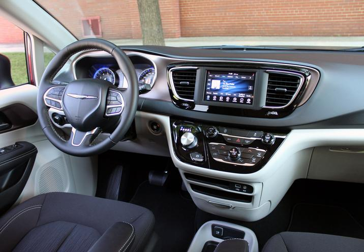 Habitacle de la Chrysler Grand Caravan 2021