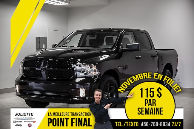 2019 Ram 1500 Classic Express «ALL BLACK» Camion cabine Crew