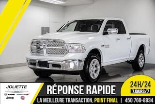 2014 Ram 1500 Laramie, DIESEL, CUIR, NAVIGATION!! Camion Quad Cab