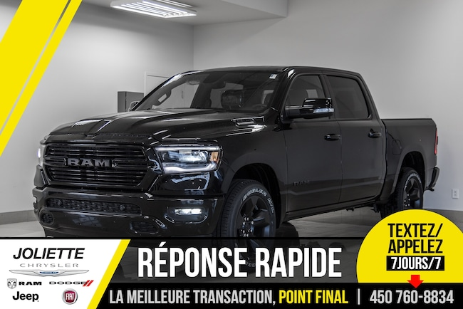 2019 Ram All-New 1500 Black Package Camion cabine Crew