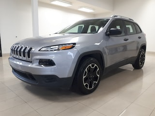 2017 Jeep Cherokee Sport, MAGS, GROUPE ÉLECTRIQUE, BLUETOOTH, AIR CLI VUS