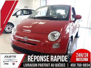 2017 FIAT 500 Pop, AIR CLIMATISE, AUTOMATIQUE À hayon