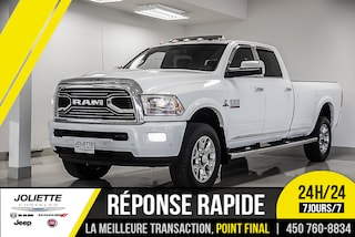 2016 Ram 2500 LIMITED, DIESEL, CUIR, TOIT, NAVIGATION!! Camion cabine Crew