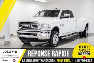 2018 Ram 3500 LIMITED, DIESEL, CUIR, TOIT, NAVIGATION!! Camion cabine Crew