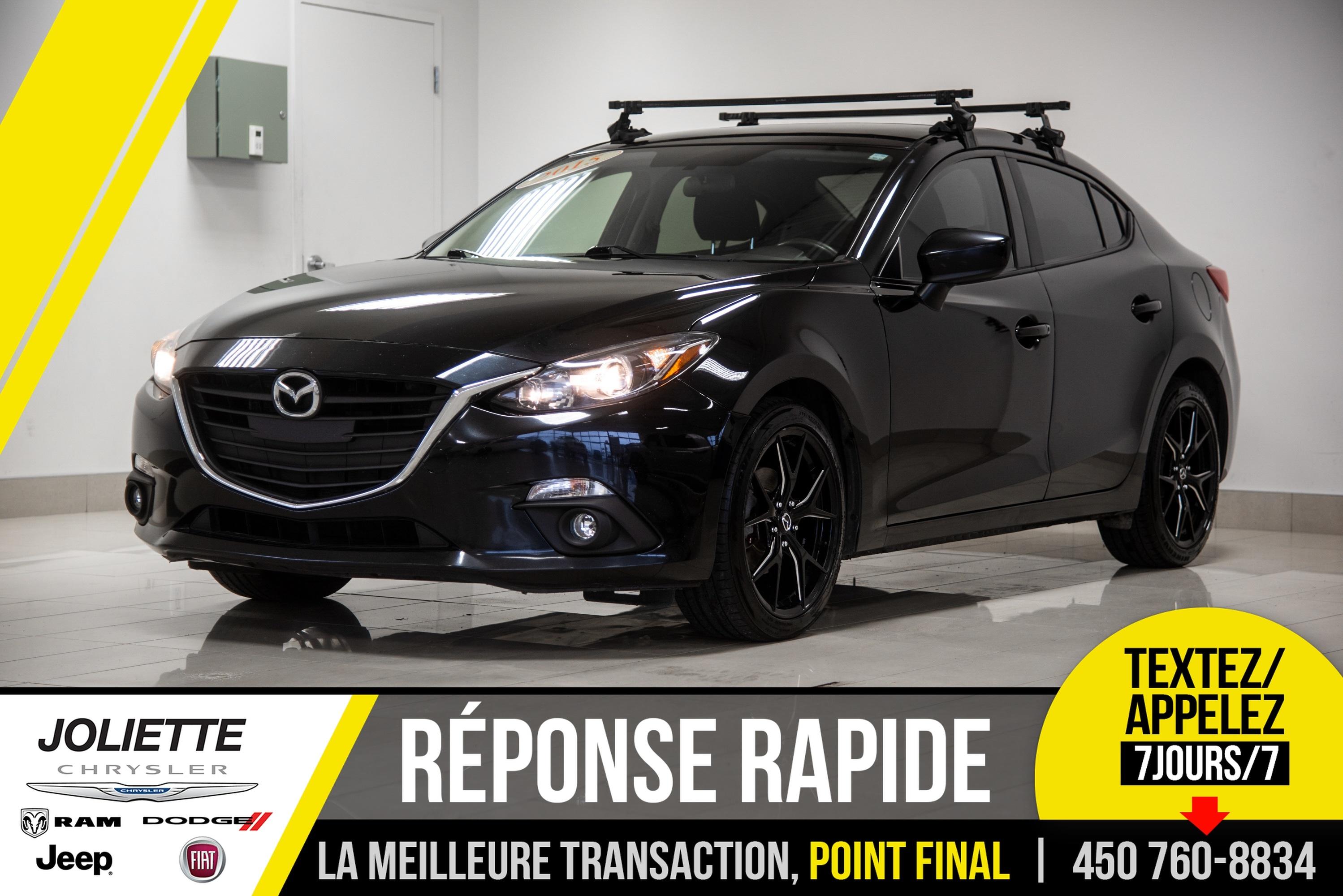 2015 Mazda  Mazda3 GX CONFORT, BLUETOOTH. AIR, MAGS!