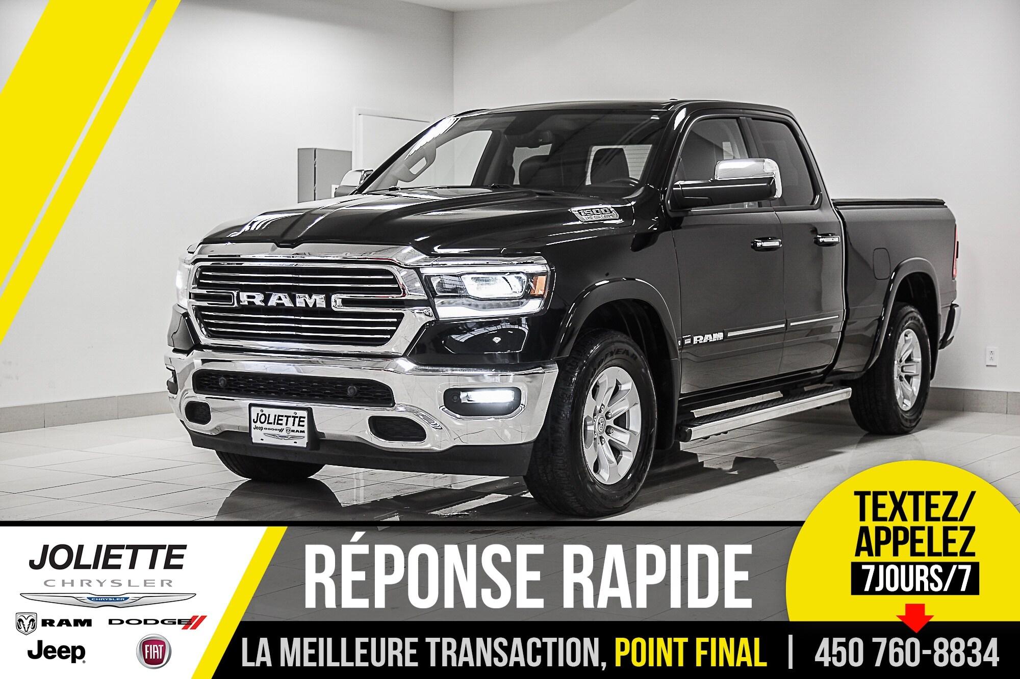 2019 Ram 1500 Laramie, CUIR, TOIT, NAVIGATION!! Camion Quad Cab