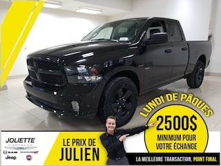 2019 Ram 1500 Express ALL BLACK Camion Quad Cab