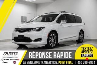 2018 Chrysler Pacifica Limited, STOW'N GO, CUIR, NAVIGATION!! Van Passenger Van