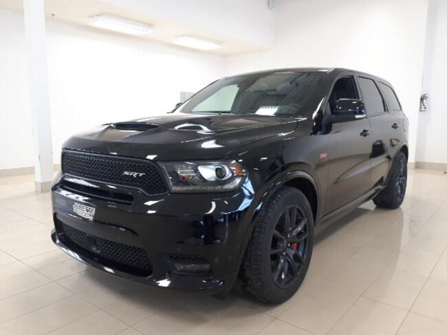 2018 Dodge Durango SRT TOUTE ÉQUIPÉ NOIR SUR NOIR Cabine régulière