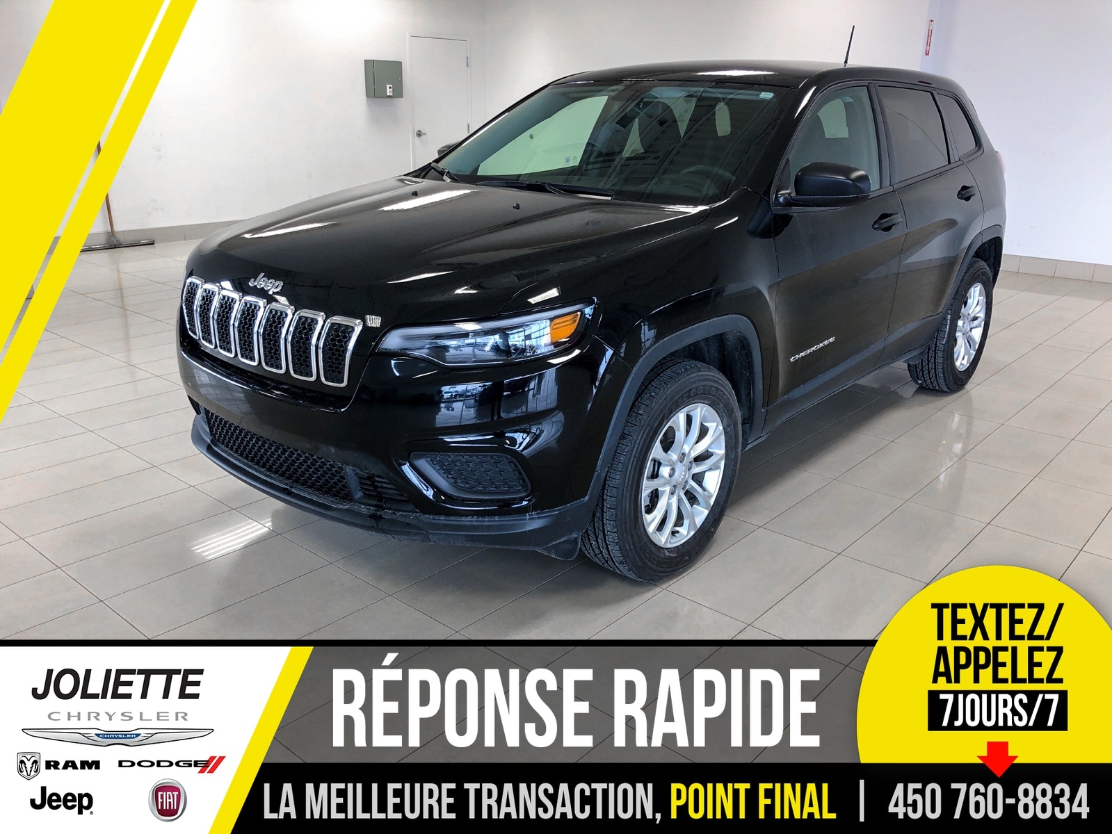 2019 Jeep  New Cherokee Sport 4x4