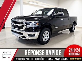 2019 Ram 1500 Big Horn Camion cabine Crew