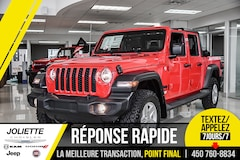 2020 Jeep Gladiator Sport S. Trailer package. Toit Rigide.  Camion cabine Crew