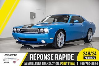 2010 Dodge Challenger SRT8, CUIR, NAV,TOIT, BAS KILO! WOW!! Coupé