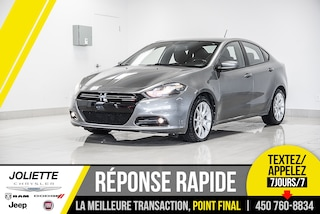 2013 Dodge Dart SXT, RALLY GROUP, BLUETOOTH, AIR CLIMATISÉE Berline