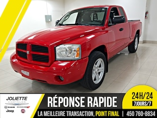 2007 Dodge Dakota SLT, 4X4, JAMAIS ACCIDENTÉ! Camion cabine Club