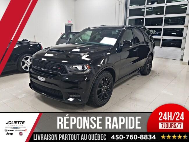 2018 Dodge Durango R/T, 4X4, CUIR ROUGE, TOIT, NAV VUS