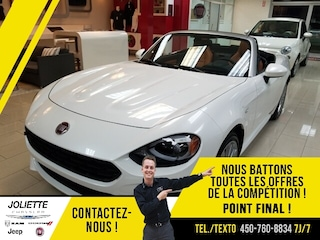 2019 FIAT 124 Spider Lusso *TOUT ÉQUIPÉ* Décapotable ou cabriolet