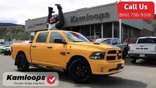 2019 Ram 1500 Classic Express Stinger Yellow Truck Crew Cab 1C6RR7KT1KS651200